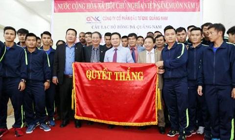 Quảng Nam đặt mục tiêu lọt vào top 3 trong mùa giải V-League 2017