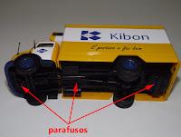 Miniatura Mercedes MB 1113 Kibon personalizado