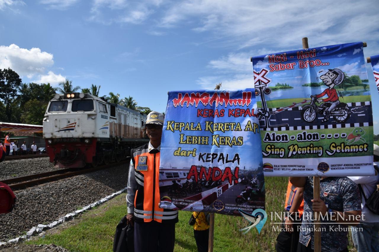 Waspada! 30 Perlintasan Kereta Api di Kebumen Tak Berpalang Pintu