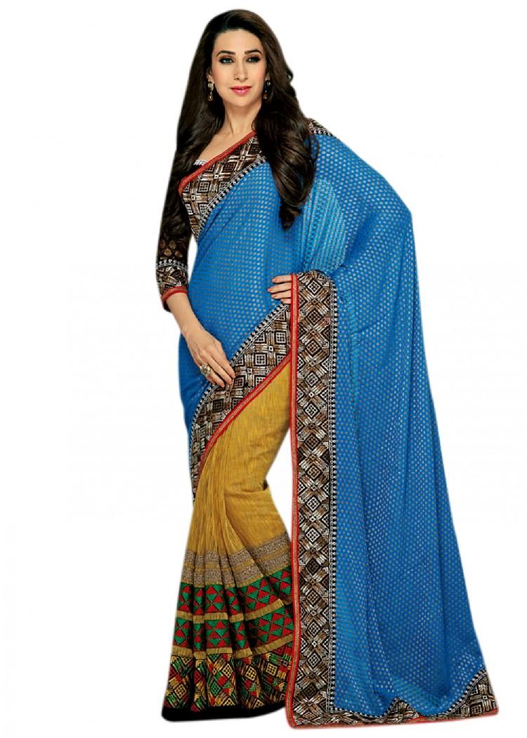 Saree World: Karishma Kapoor Saree Collection 2013-2014