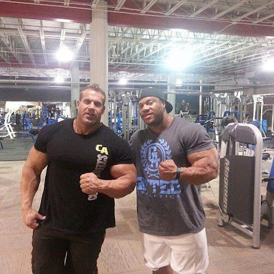 Phil Heath VS Jay Cutler