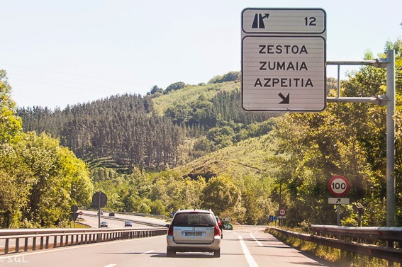 Autopista a Zumaia