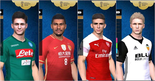 Option file Update For PTE Patch 6.5.2 Unofficial PES 2017