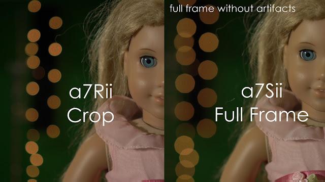 Sony a7Sii vs a7Rii