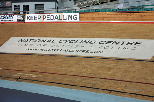 National Cycling Centre, Manchester.