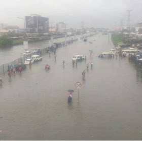 Downpour hits Lagos on election day