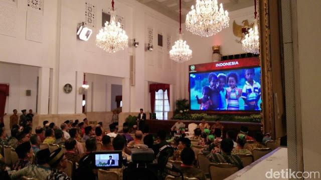 Sesaat Pidato Presiden Jokowi di Istana Negara Terhenti, Lantaran Ada Hal Mengganggu Ini...