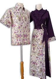 Model Dress Batik Muslim Modern Terbaru