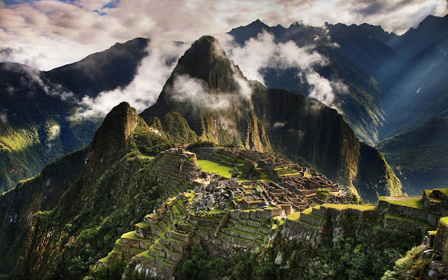 Machu Picchu Crowned with Clouds