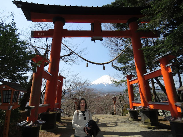 Chureito Pagoda-Santuário Arakura Sengen