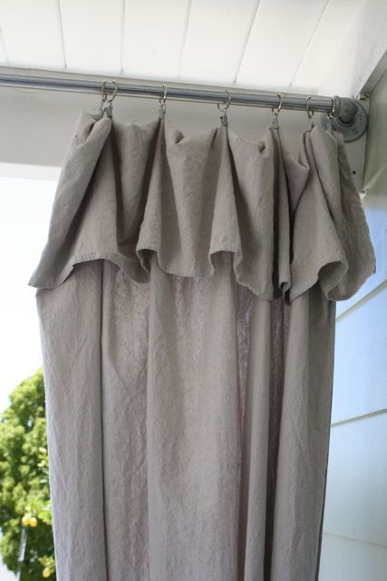 Making Voile Curtains Window Your Own Man Behind Curtain The