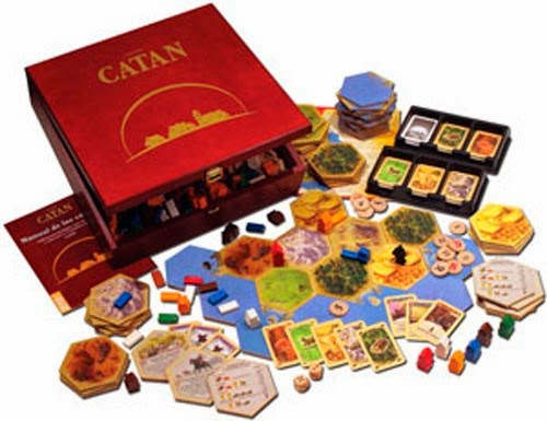Rese a juego de mesa los colonos de catan la tropa friki - Catan juego de mesa ...