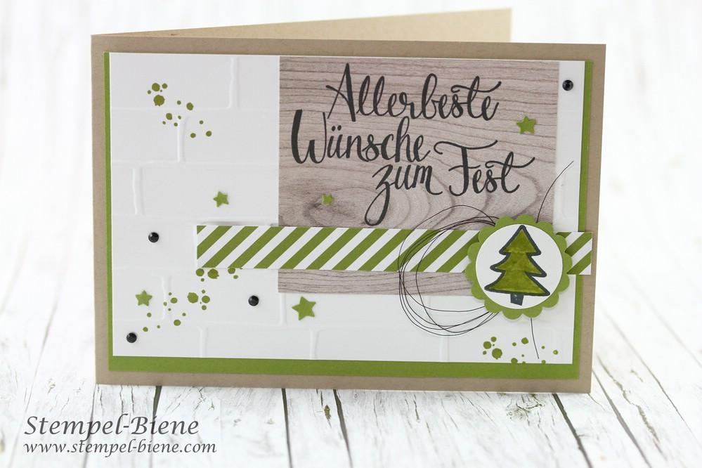 stempel biene mts 191 stampin 39 up malerische weihnachten. Black Bedroom Furniture Sets. Home Design Ideas