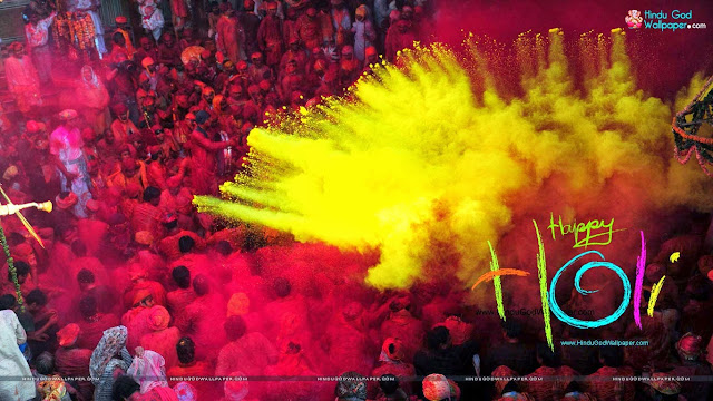 Wishes, Message, Quotes & SMS Of Happy Holi 2017 In Hindi & English