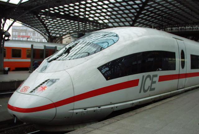 Trem de Munique a Berlim