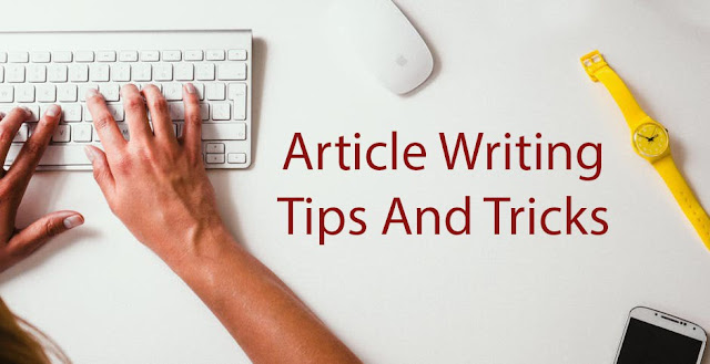 4 Tips for Easy Article Writing
