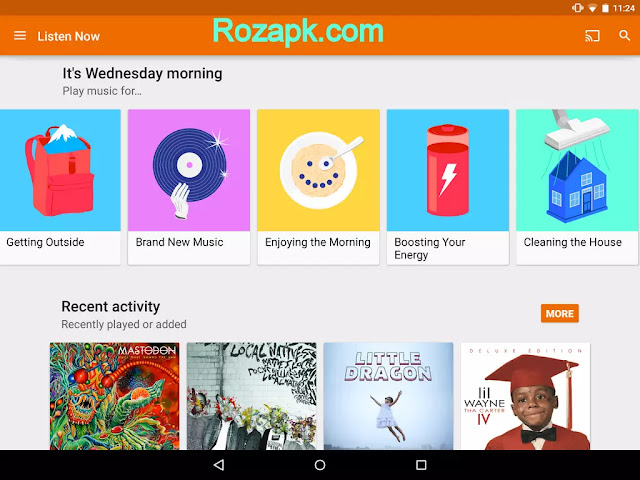Google Play Music Apk v6.3.2317V.2583329 Latest Version For Android