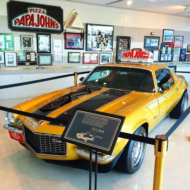 Papa John's 1971 Z28 Camaro