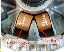 Cara Mudah Memahami Fungsi Roller Pada Motor Matic