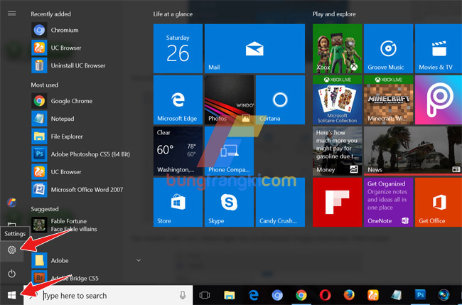 Cara Mengganti Default Browser Windows 10