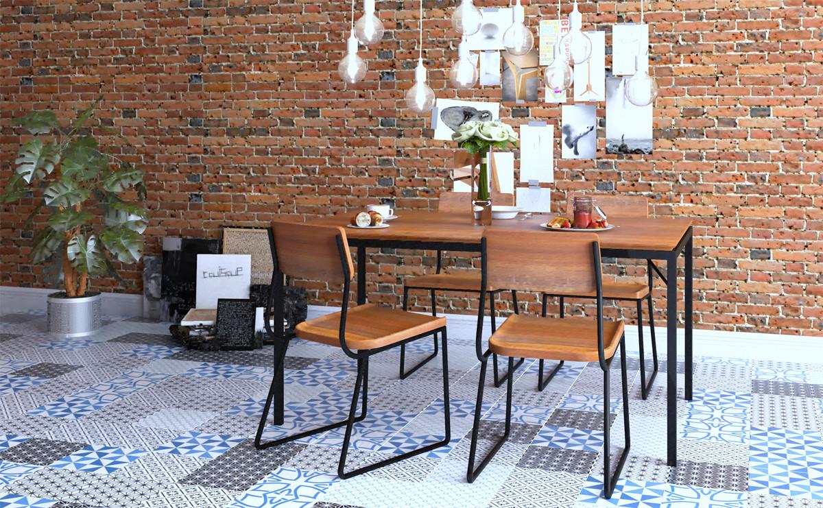 meja dan kursi minimalis