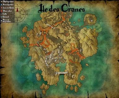 Risen 3, Titan Lords, Skulls Island Map