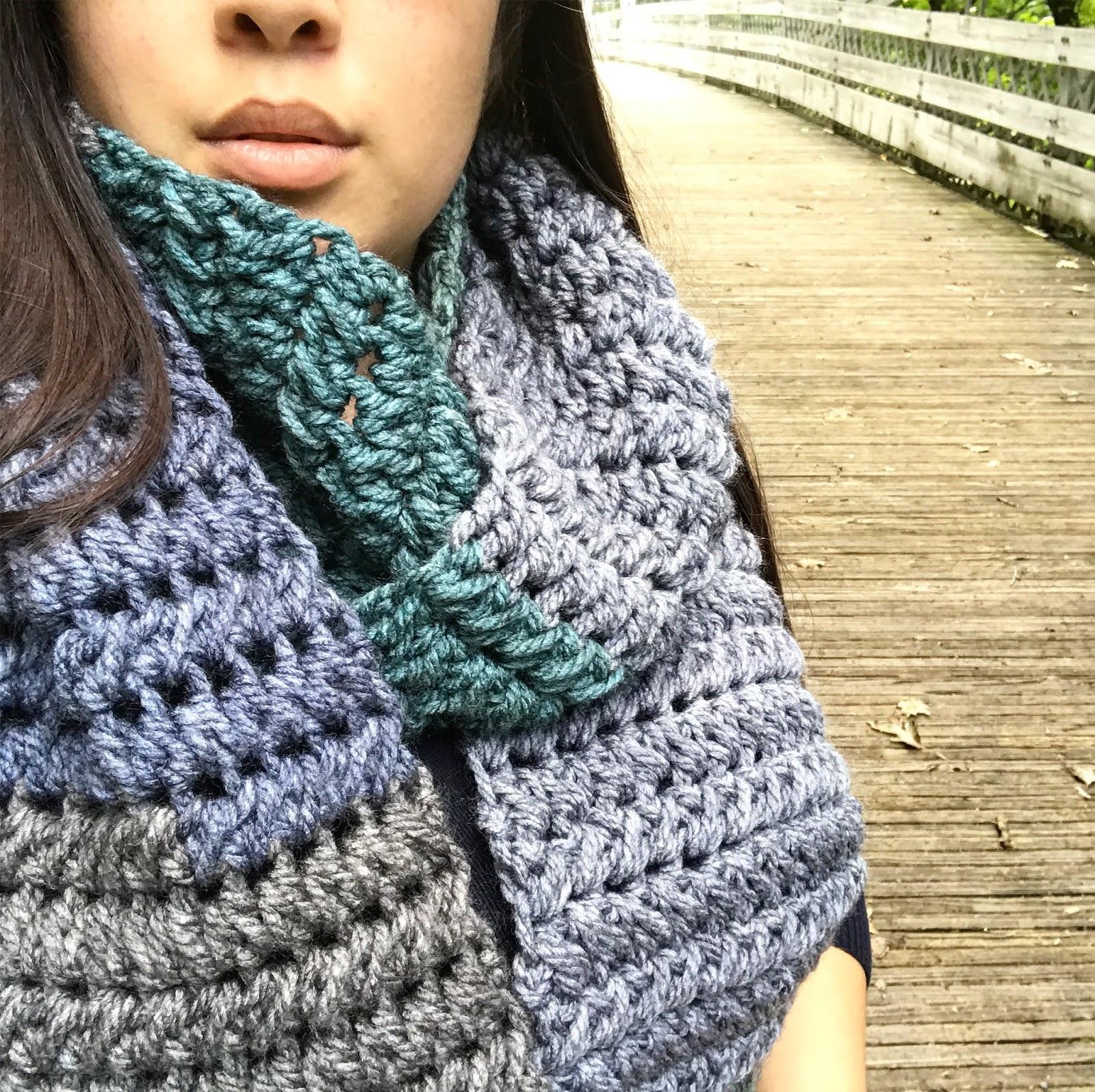 Tea Cake Scarf Crochet Pattern - Maria\'s Blue Crayon