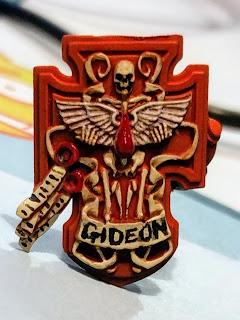 Sergeant Gideon's shield