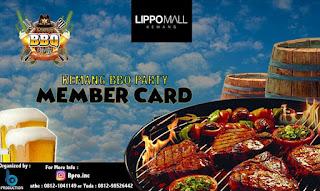 Member Card Kemang BBQ Party