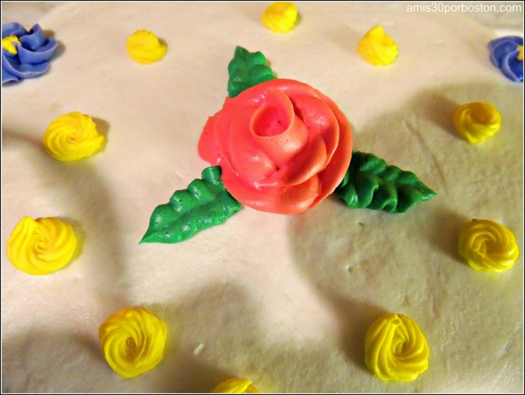 Curso 1 de Decoración Wilton: Flores Rosa