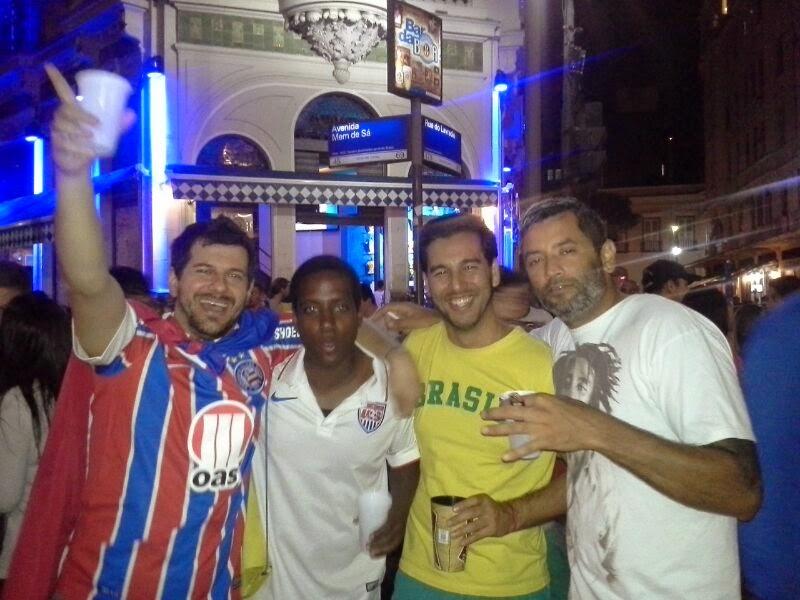 Lapa - Rio de Janeiro - Copa do Mundo Brasil 2014 - Sábado à noite