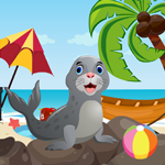 Games4King Cute Seal Resc…