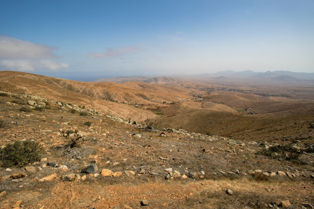 Punto panoramico vicino al Mirador Morro Velosa-Fuerteventura