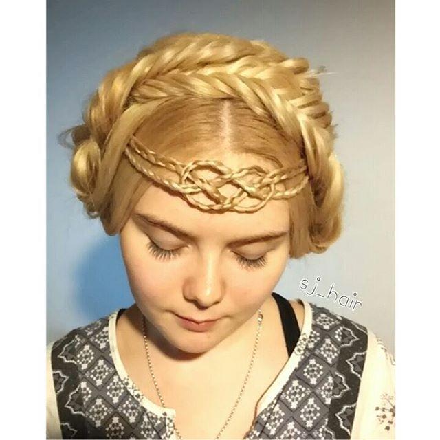Beautiful Celtic Braids! - The HairCut Web