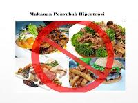 Makanan Yang Harus di Hindari Bagi Penderita Hipertensi