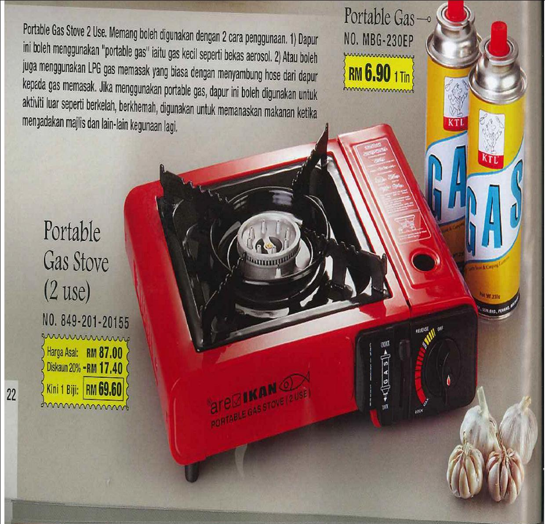 Portable Gas Stove Menang Glware