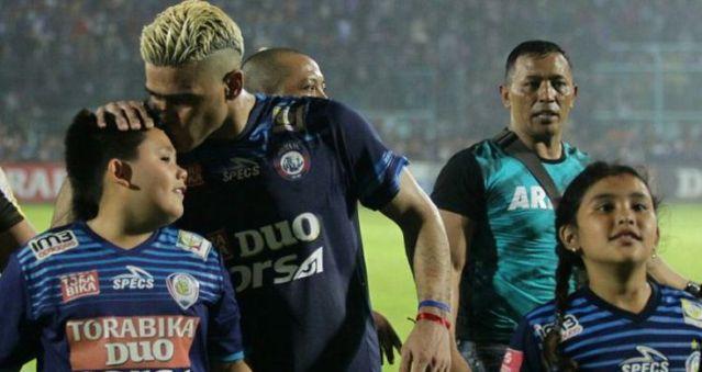 Arema FC Juara, Gonzales 'El Loco' Pencetak Gol Terbanyak