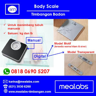 body scale timbangan badan