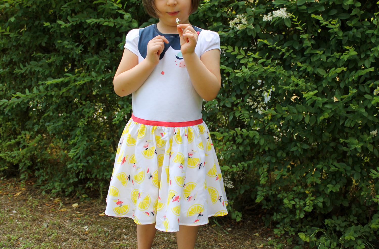 outfit bambina vestito bianco