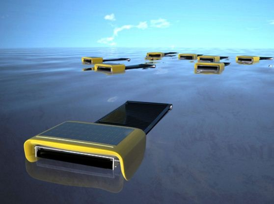 The Senseable City Lab at MIT develops Seaswarm - Autonomous robots to absorb the oil in the oceans