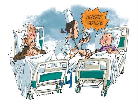 Bệnh cao huyết áp không chỉ ở người lớn mà cả ở trẻ em