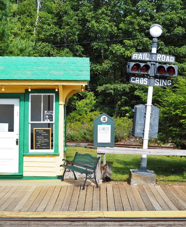 The Seashore Trolley Museum