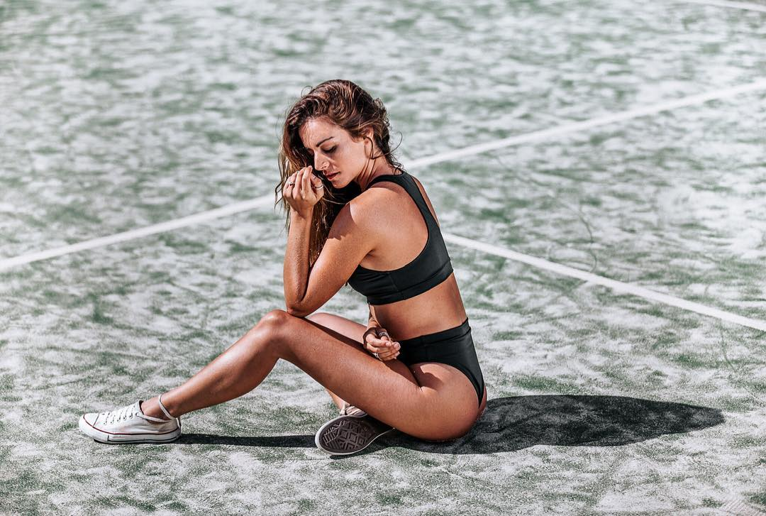 Joana Duarte Shows her Good Physical Form