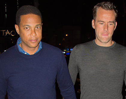 CNN anchor Don Lemon steps out holding hands with his boyfriend (photo)