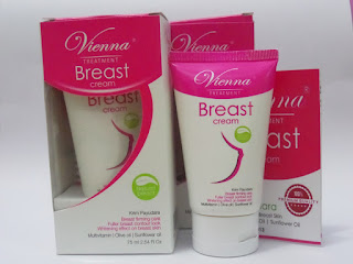 Vienna Breast Cream Pembesar dan Pengencang Payudara BPOM