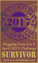 A TO Z CHALLENGE 2017: