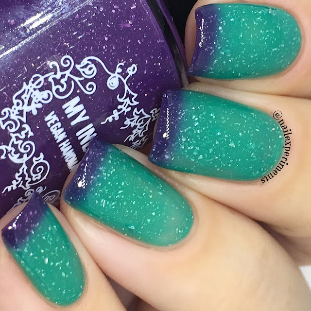 my indie polish the most wildest thing of all swatch