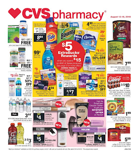 Find CVS Weekly Ad August 12 - 18, 2018