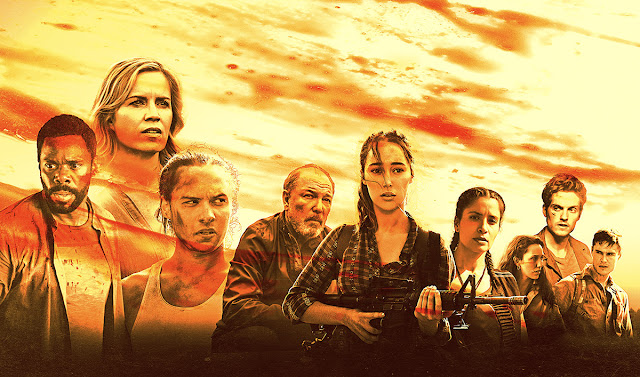Poster tercera temporada de Fear The Walking Dead