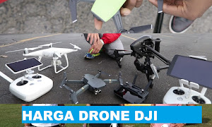 Update Harga Drone Merek DJI Februari 2018